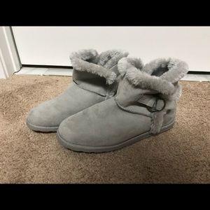 Mossimo Gray booties